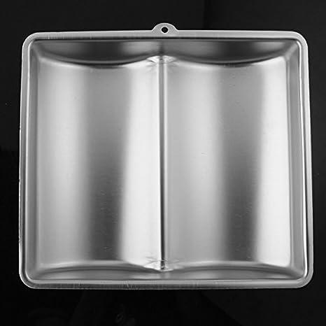Amazon.com: [Free Shipping] Baking Cake Mold Bakeware Aluminum Book Shape Cake Mold // Molde de pastel hornear utensilios para hornear de aluminio molde ...
