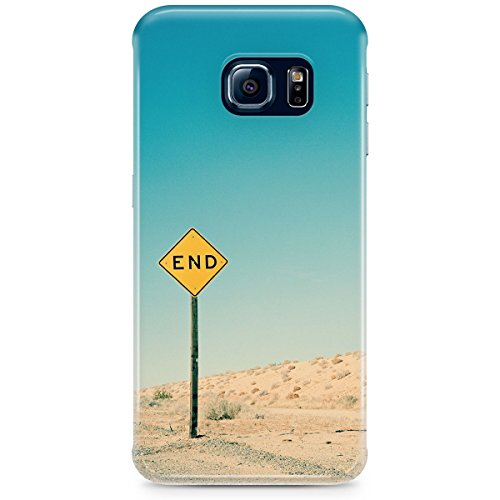 Phone Case For Apple iPhone 5C - END Road Sign Wrap-Around Slim