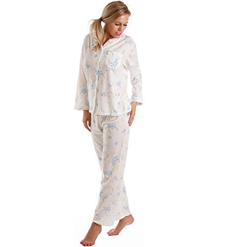 Lady OLGA ropa de dormir para mujer PIJAMA MUJER Corta Manga Larga Pijamas Ropa de descanso