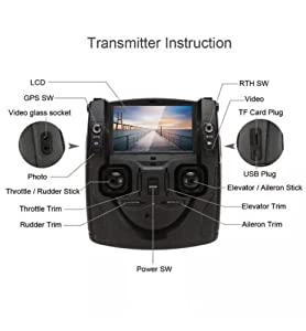 HUBSAN H901A Remote Controller for H501S H502S X4 Drone (H501S-15) by HUBSAN