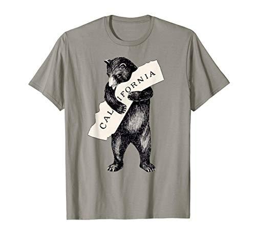 I Love California Shirt-Retro Vintage Cali Bear Tshirt]()