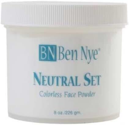Ben Nye Neutral Set Setting Powder (8 oz) by Caufield's Novelty - Ben Nye
