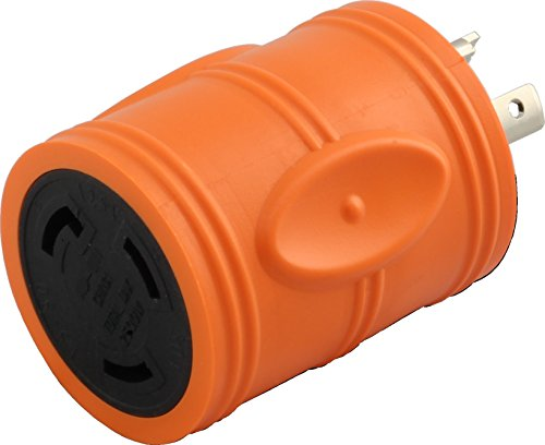 AC WORKS Shore Power Adapters (20A L5-20 Male to 30A L5-30 Female)