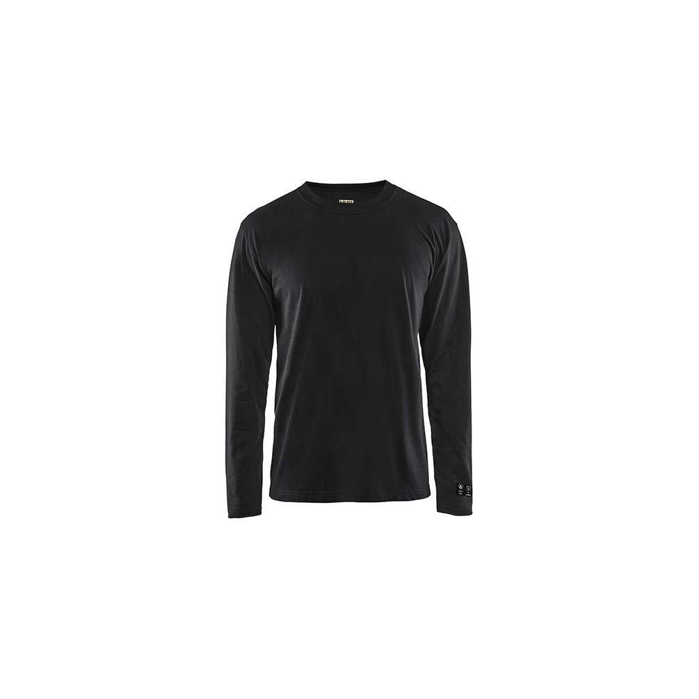 Noir 3XL Blaklader - T-shirt hommeches longues retardant-flamme ignifugé inhérent - 9900 Noir