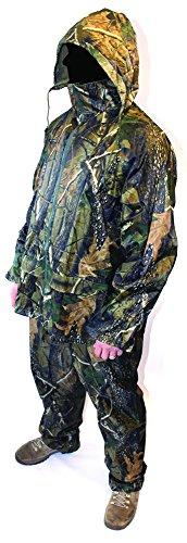 imperméable camouflage Combinaison imperméable 2 pièce Veste Pantalon pêche chasse 1