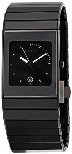 Rado Men's R21713152 Ceramica Black Dial Watch