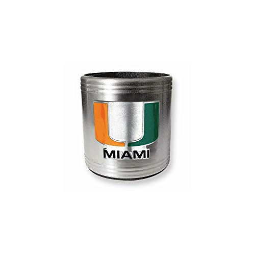 University of Miami Insulated Stainless Steel Holder