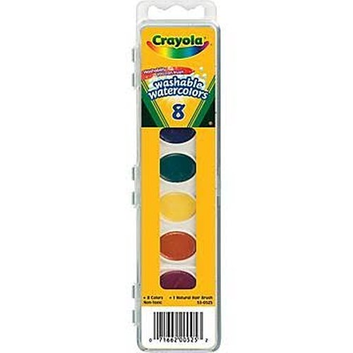 Crayola Watercolor Paints (Washable Watercolor Paint)