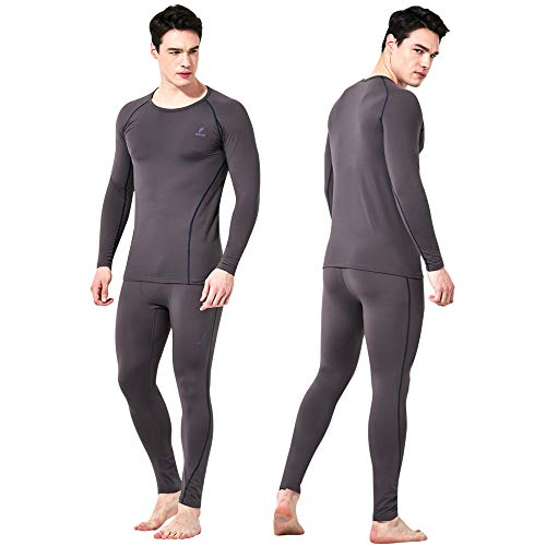 f1dc871a063c Feelvery Men's HEATPRO Active Performance Long Johns Thermal Underwear Set  with Excellent Soft Warm Fleece Lined