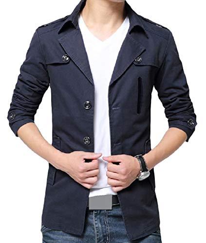 Lavato Risvolto Rivestimento Pulsante Più Mogogomen Caldo Di Solido Formato Cotone Outwear Pattern1 0qr0Zxvn