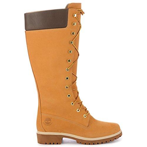 Timberland Boots Knee High - Timberland Women's 14 Inch Premium WP Knee-High Boot,Wheat,7.5 W US