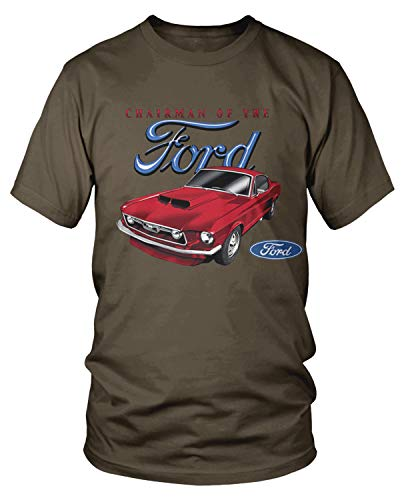 - Amdesco Men's Chariman of The Ford T-Shirt, Dark Chocolate 3XL