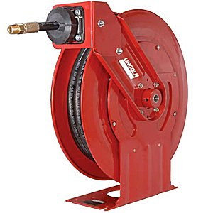 Lincoln Lubrication 94552 50' x 1/4'' Heavy Duty Grease Reel Assembly