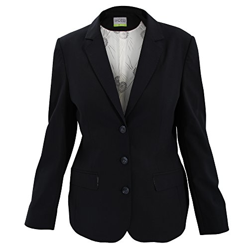 (Skopes Womens/Ladies Juliette Suit Jacket (18/R) (Black))