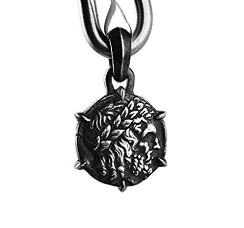 david-yurman-solid-sterling-silver-petrus-zeus-amulet-pendant-604-new-box