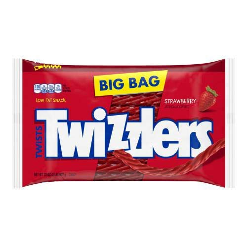 TWIZZLERS 32 Oz Strawberry Twists (Pack of 10)