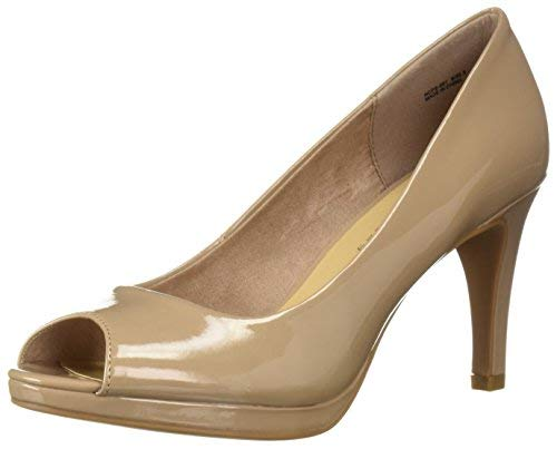 CL by Chinese Laundry Women's NALIE Pump Nude Patent 9 M ()