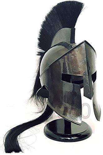 GLOBALEXPORTSHUB Piru 300 King Leonidas Spartan Helmet Warrior Costume Medieval Helmet -