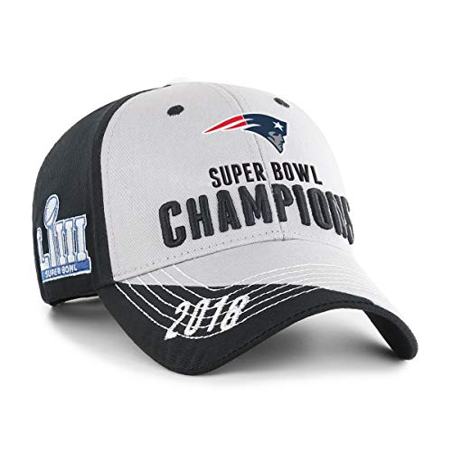 73c62d70 OTS NFL New England Patriots Super Bowl LIII Champions Hubris All-Star  Adjustable Hat from OTSRE Old Time Sports Replenishment at the Favorite ...