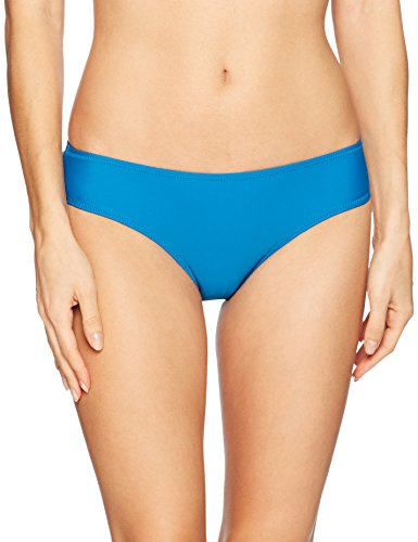 Volcom Junior's Simply Solid Cheeky Bikini Bottom, Ocean, XL (Volcom Cheeky Bikini)