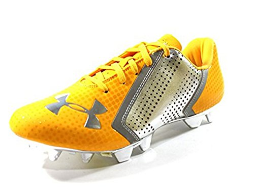 3c768aa4a954 Under Armour Men s Blur Low MC Yellow Chrome Football Cleats Size 10 - Buy  Online in Kuwait.