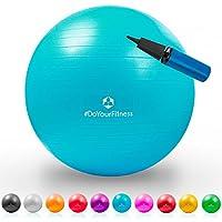 Gymnastik-Ball »Pluto« / Robuster Sitzball und Fitnessball / 85 cm / türkis