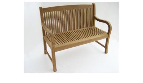 Peachy Amazon Com Atlanta Teak Furniture Teak Garden Bench 48 Ocoug Best Dining Table And Chair Ideas Images Ocougorg