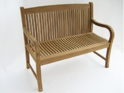 Sensational Amazon Com Atlanta Teak Furniture Teak Garden Bench 48 Machost Co Dining Chair Design Ideas Machostcouk