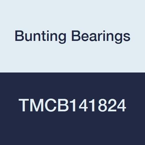 Bearings Cast Bronze C96900 7//8 Bore x 1-1//8 OD x 3 Length 7//8 Bore x 1-1//8 OD x 3 Length TMCB141824A1 Bunting Bearings TMCB141824 Sleeve Plain