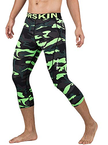 DRSKIN Men's 3/4 Compression Tight Pants Base