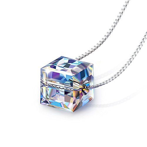 Crystal Necklace PLATO Sterling Romantic product image