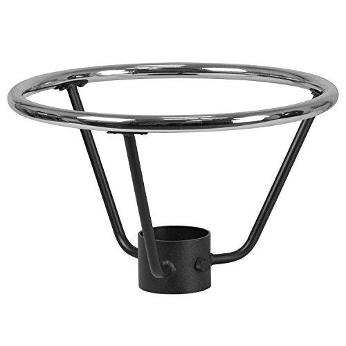 Flash Furniture Bar Height Table Base Foot Ring with 4.25'' Column Ring - 19.5'' Diameter Metal Foot Ring