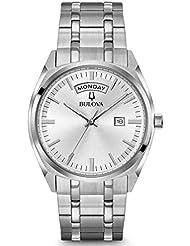 Bulova Mens Classic Stainless Bracelet Watch