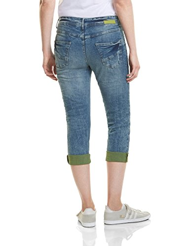 10317 Donna Blu Wash Straight authentic Cecil Jeans Used qp0ZwEv