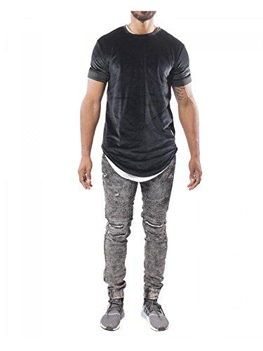 Project X Paris Herren Jeanshose schwarz schwarz / schwarz Gr. 29, grau
