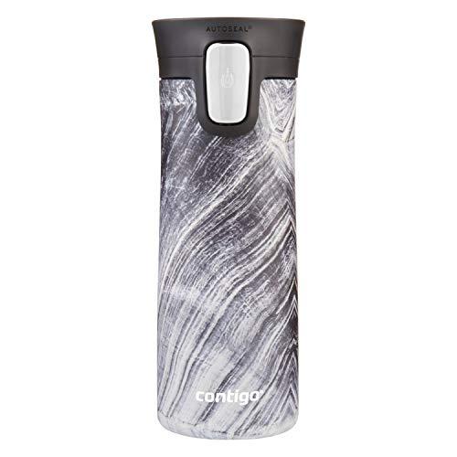(Contigo Stainless Steel Coffee Couture AUTOSEAL Vacuum-Insulated Travel Mug, 14 oz, Black)