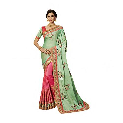 New Launch Bridal Silk Saree Sari Collection Blouse Wedding Party Wear Ceremony Women Muslim eid 586 7 by SHRI BALAJI SILK & COTTON SAREE EMPORIUM