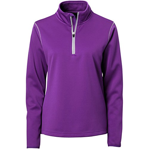 TGW Womens Sweet Spot Performance 1/4 Zip Pullover Purple S ()
