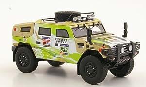 Renault Sherpa, No.933, A.Daniel / D.Manuel, Rally Dakar, 2011, Modelo de Auto, modello completo, Eligor 1:43