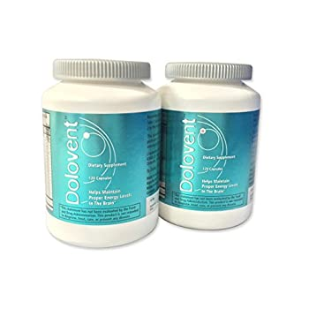 Image of Linpharma Dolovent Magnesium, B2, CoQ10 Dietary Supplement for Brain Health - 2 Bottles Health and Household