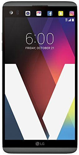 LG V20 64GB US996 Unlocked GSM/CDMA 4G LTE Quad-Core Phone w/Dual Rear Camera (16MP+8MP) - Titan