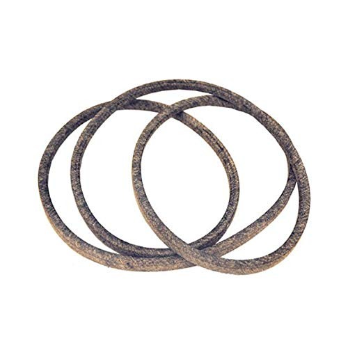 (532144200 Lawn Tractor Blade Drive Belt Fits AYP Husqvarna Craftsman Poulan Wizard with Double Idler Pulleys Heavy Duty 1/2