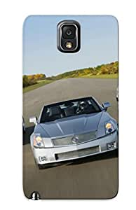 Hot Silver Cadillac Xlr First Grade Tpu Phone Case For Galaxy Note 3 Case Cover