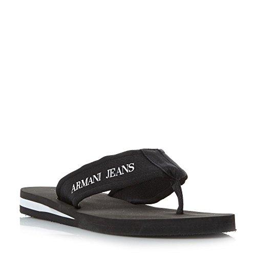現実的マルコポーロ省(アルマーニ ジーンズ) Armani Jeans メンズ シューズ?靴 サンダル 935093 Nylon Toe Post Sandals [並行輸入品]