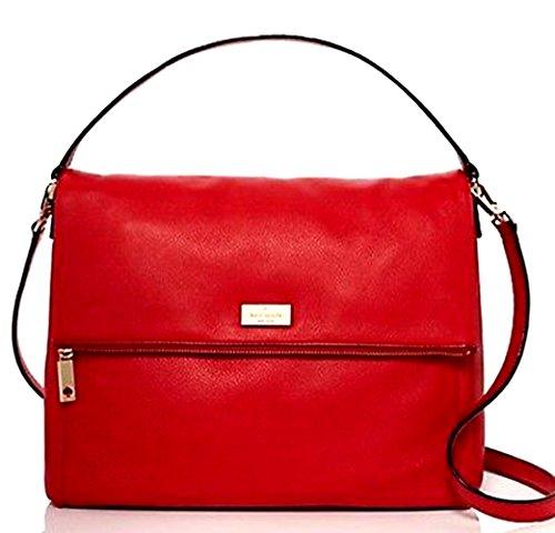 Kate Spade New York Highland Place Medium Maria Shoulder Bag Deep Blaze