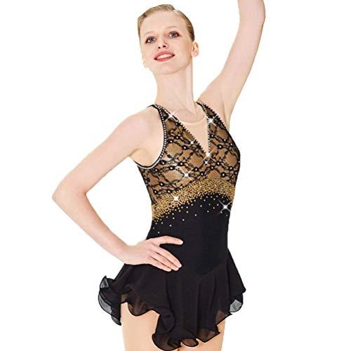 Ice Skating Costumes Sochi - Binfier Figure Skating Dress for Girls