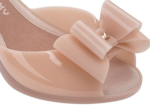 Zaxy Diva Bow 2 Womens Jelly High Heels/Shoes Pink kqvdjJ