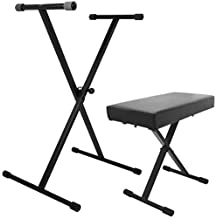 On-Stage Stands KPK6500 Keyboard Stand and Bench Pak