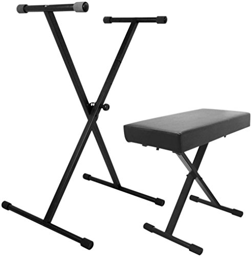 On-Stage KS7190 Keyboard Stand and Bench Pak