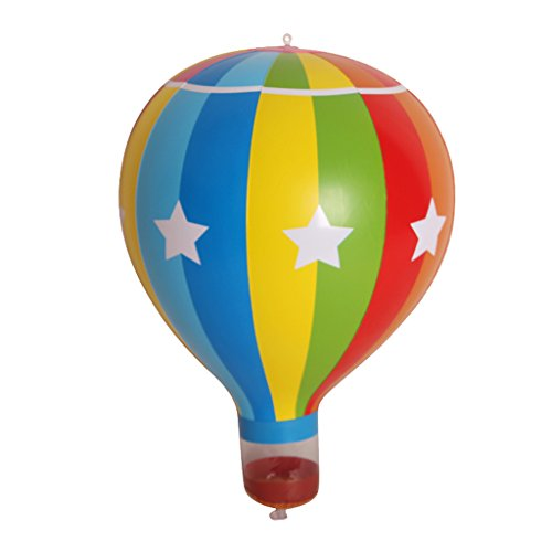 Dovewill Suspended Colorful Hot Air Balloon Inflatable Blow Up Toy Party Game Props Festival Party Supplies Decoration -